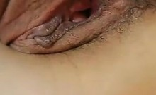 Playing Around With My Asian Wifes Pussy