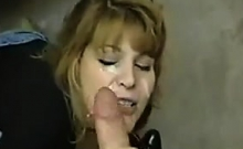 Facial For A Mature Slut Point Of View
