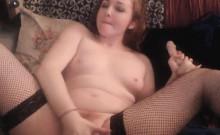 Hot Blonde Babe Fucks Hard with her Dildo