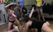 College Girls Get Their Pussy Out At A Hazing Party
