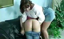 Round Butt Spanked