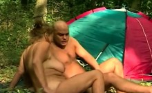 mature fucked outdoor by young stranger